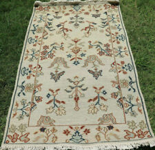 3x5 ft Small Hand Woven Wool Rug Turkish Kilim Dhurrie Afghan Oriental Area Rug