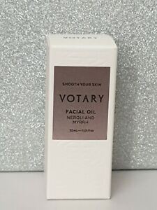 New in Box Votary Facial Oil 30ml Smooth Your Skin With Neroli & Myrrh unopened