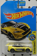 2015 15 MAZDA MX5 MX 5 MIATA YELLOW CAR 9 80 TUNNER RACE 2017 HW HOT WHEELS