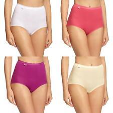 Sloggi 4 Pack Womens Basic Maxi Briefs Pink Multi Feel Good
