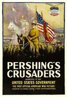 OLD MOVIE PHOTO Pershings Crusaders Poster 1918