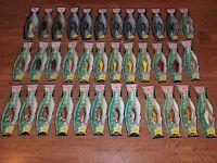 Poe's 110 1100 Series Fish Package Cedar Wood Crankbait Color 36 Lures 14 Colors