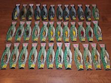 Poe's 110 1100 Series Fish Package Cedar Wood Crankbait Color 36 Lures 14 Colors