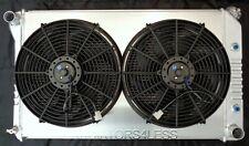 "3 ROW ALUMINUM RADIATOR W/ SHROUD & 14"" FANS 1970-1981 PONTIAC TRANS AM FIREBIRD"