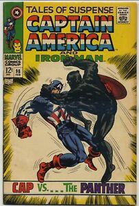 Tales of Suspense 98 Black Panther Battle