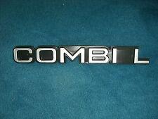 Emblem / Badge Opel Bedford Combi L 22 x 3 cm, 3 Befestigungsstifte Pins