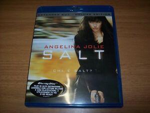 BLU RAY-PHILLIP NOYCE-SALT-ANGELINA JOLIE-SONY PICTURES-2011-STATO OTTIMALE!OK!