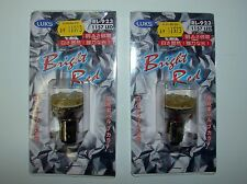 (2) 1157 LED BULB TAIL LIGHT BRIGHT RED LEDs MADE in JAPAN!