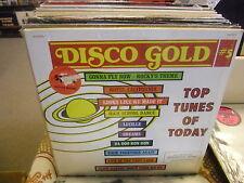 Disco Gold #5 vinyl LP United Records VG+ IN Shrink [Rocky Theme Da Doo Ron Ron]