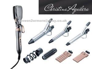 Christina Aguilera Multi-Function Hair Styler Ceramic Keratin Hair Crimper Waver
