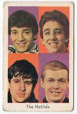 1960s Swedish Film Star Card British Beat Group The Hollies Allan Clarke