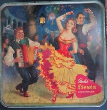 VTG CONFECTIONERY Advertise  TIN BOX PARLE'S FIESTA Assortment Food & Beverage