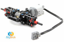 Lego Technic - Black Differential, Gear Brace and L Motor Pack - Free Postage