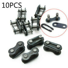 10 X Bicycle Bike Chain Master Link Joint Connector Single Speed Quick-Clip KITS