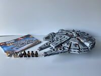 Boys Lego Star Wars Millennium Falcon 75105 (Complete Set)