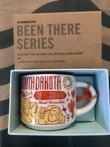 Starbucks 2oz SOUTH DAKOTA Demi Tasse BEEN THERE mug Ornament Cup Mini Mug NIB