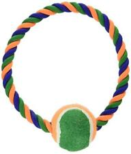 Bow Wow Ring Rope with Tennis Ball