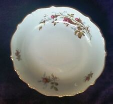 "Vintage W. Eschenbach ""Briar Rose"" Fine China Bavaria Germany Soup Bowl 8 in."