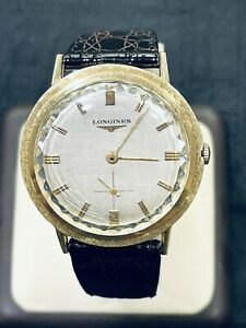 Vintage Longines 14K Solid Yellow Gold Cal. 23Z 17 Jewels Manual Wind Watch