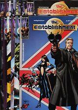 THE ESTABLISHMENT. Colección completa (13 números) Planeta, 1998.