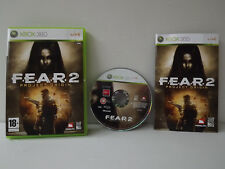 FEAR 2 Project origin - Game xbox 360 complete with record