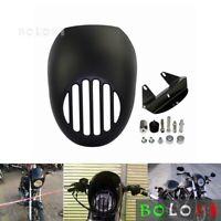 Front Headlight Fairing Visor Grill Cowl for Harley V ROD Dyna FX Sportster XL
