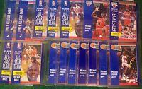Michael Jordan 1992-93 Fleer (16) Card Lot #'s 29, 211, 220, 238, 375