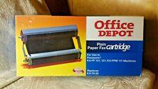 Office Depot® Brand 1020 (Panasonic Kx-Fa65) Black Thermal Fax Cartridge Item #