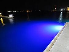 (2) High Power Blue Led Underwater transom lights. 60watts/1800 lumens each!