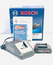 Bosch GXS18V-15N15 CORE 18V Starter Kit w/ (1) CORE18V 4.0Ah Battery New