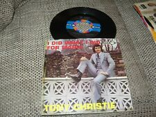 Tony Christie-I did what i did for Maria1971ITALY4739Vinyl sehr gut-MEGARAITÄT