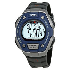 Timex Ironman Triathlon Black Resin Mens Digital Watch TW5K86000