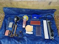 Job Lot-Blue Point by Snap On,Sealey Dual Action Orbital Sander-And Sand Paper