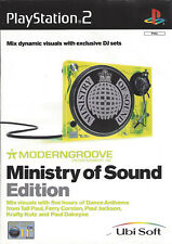 MODERNGROOVE MINISTRY OF SOUND EDITION for Playstation 2 PS2 - with box & manual