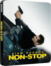 Non Stop Limited Edition Steelbook UK Exclusive Region B Brand NEW SEALED