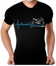T-shirt maglia per moto SUZUKI GSX R 600 battito cuore TSHIRT maglietta