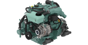 Genuine NEW Volvo Penta D1-30 D1 Complete Compact Engine With MS15L/A Gearbox