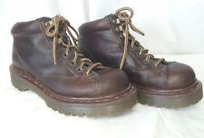 Doc Dr Martens UK AirWave Leather Punk Grunge Biker Ankle Chukka Boots Mens US 6