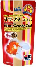 Hikari Fish & Aquatic Oranda Gold 3.5 Oz Mini Pellet Floating goldfish lionhead