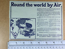 British Aerial Transport Co. Ltd. BAT FK26 1920 early commercial aviation B.A.T.