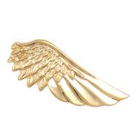 Vintage tie clip oro rame metallo ala semplice cravatta Tie Pin Bar