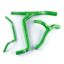 GREEN For KAWASAKI KXF450 KX450F 2009-2015 silicone Y hose kit 2010-2015