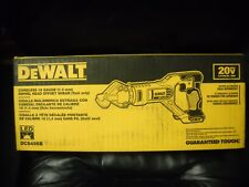 Dewalt DCS496B 20-Volt 18-Gauge 2,450-Spm Off-set Metal Shears Bare Tool NEW