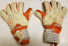 West Coast Goalkeeping Soccer Gloves Vyper Orange White Limited Edition Size 8