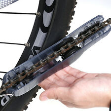 Black Cycling Bicycle Chain Wheel Wash Cleaner Cleaning Brushes Scrubber Tool