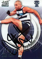 ✺Signed✺ 2011 GEELONG CATS AFL Premiers Card JOSH HUNT