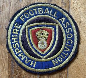 Original 1930s Football Shirt Badge Hampshire FA Blazer Football Association