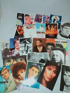 Collectable Vintage Movie Post Cards AVART GARDE American PC Co Fan Club SPOCK