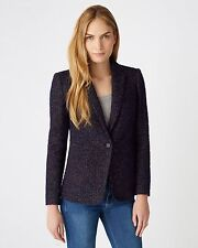 Tweed Blazer Single Breasted Coats & Jackets for Women