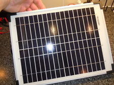 SOLAR PANEL CHARGER 15 WATTS  for 12 volt MOTORCYCLE & CAR BATTERIES **WOW**